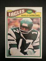 1977 Topps Football Card #144 - Harold Carmichael - Philadelphia Eagles