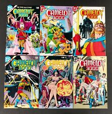 CAMELOT 3000 1982 #1 TO 12 COMP. VF/NM SHARP KNIGHTS ROUND TABLE IN THE FUTURE!