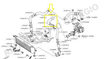 TUBO TURBO ARIA INTERCOOLER NISSAN QASHQAI 1500 DCI 14463-JD50D