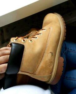 Timberland Mustard/Brown Boots Size Uk 4