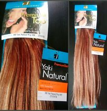 """SENSATIONNEL Premium Too 100% Human Hair extensions 14""""/colour #27/33 (weft)"""
