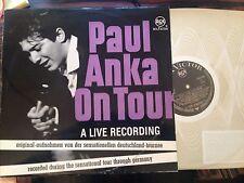 LP Paul Anka >on Tour - Deutschland-Tournee< Germany RCA Victor