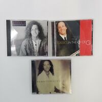Lot of 3 Kenny G CDs Breathless Classics In The Key Of G Greatest Hits