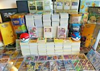 50x Pokemon Cards Bundle! Joblot Including 5 Rares / Holos - 100% Genuine Cards