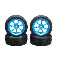 4pcs Alloy Rims & Tires RC Car Wheels for 1/18 WLtoys A959-B A979-B A959 A969