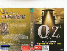 OZ-1997/03-TV Series USA-The Sixth Season-[3 Disc]-DVD