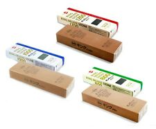Set of 3 Japanese King Deluxe 800/1000/1200 Grit Whetstone Sharpening Waterstone
