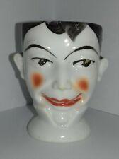 Interesting Old Vintage Egg Cup of a Man Edwardian?