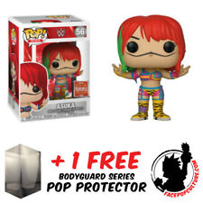 FUNKO POP WWE ASUKA SDCC 2018 SUMMER CONVENTION EXCLUSIVE + FREE POP PROTECTOR