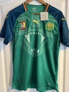 Cameroun Football Shirt, New , Large