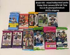 Las Vegas Raiders - 2020 Mixte Hobby + Fat Packs PRIZM Donruss équipe NFL Break