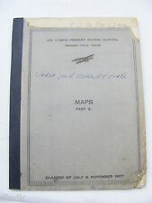 Vintage Air Corps Primary Flying School Brooks Field TX Maps Part 2 1927