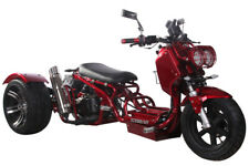 New ListingNew 49cc Maddog Motor Trike Tricycle 3 wheeler Gas Scooter Motorcycle Free Ship!
