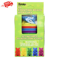 Counting Bears For Toddlers Kids Educational Learning Toys Mathematics Plastic