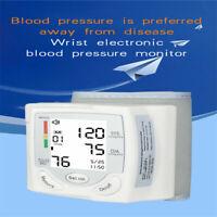 Blutdruckmessgerät Handgelenk digital Pulsmessung Blutdruck Pulsmessung Neu
