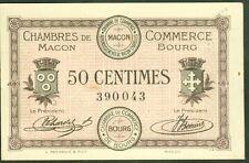 NECESSITE 50 CENTIMES CHAMBRE COMMERCE DE MACON BOURG ETAT : SPL  Lot 376