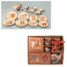 Noah'S Ark 15 Piece Mini Tea Set Service For 4 Christmas Holiday Gift Brand New