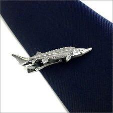 ISHOKUYA Tie Clip, Tie Bar, Tie Pin?Sturgeon JAPAN F/S J804