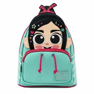 Loungefly Disney Wreck-It Ralph Vanellope Cosplay Mini Bacpack
