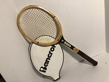 Vintage BANCROFT Bjorn Borg Hand Crafted Maple Ash 4 3/8 Racket