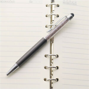 2 in 1 Crystal Stylus and Ballpoint Pen for All Capacitive Touch Screen Devices