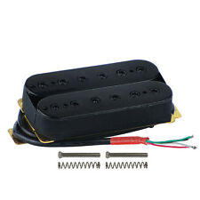 Black Color Alnico 5 Double Coil Humbucker Pickup Electric Guitar Bridge Pickup