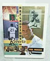 Roberto Clemente Reflections On Roberto Pittsburgh Pirates Book 1994