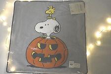 Pottery Barn kids Halloween Pillow Sham Woodstock Snoopy Peanuts NWT
