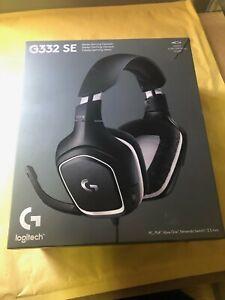 Logitech G332 headset USED DAMAGED BOX