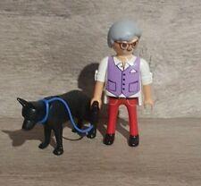 Playmobil Figur Opa mit Hund