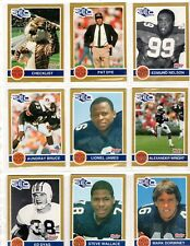 1991 HOBY SEC   Auburn Tigers Complete 38 Card Set FREE Shipping