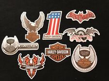 HARLEY DAVIDSON STICKERS DIE CUT AUTO WINDOW BUMPER HELMET 8 STICKER DECAL