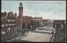 Postcard CANTON Ohio/OH  Decoration Day Knight's Templar Parade Aerial view 1907