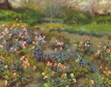 A3 Box Canvas Rose Garden Renoir