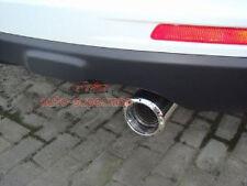 S/STEEL CHROME EXHAUST MUFFLER TIP PIPE For honda CRV 2007-2011