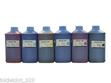 Bulk refill Dye ink for HP 81 C4930A DesignJet 5000 5500 Printer 6 Liters