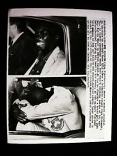 CRIME BLACK MAN IN QUESTION OF STABBINGS PHOTO1958#7085