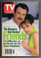 ORIGINAL Vintage May 11, 1996 TV Guide No Label Friends Courteney Cox T Selleck
