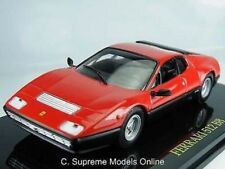 FERRARI 512 BB MODEL CAR 1/43RD SCALE RED PACKAGED SPORT ITALY ISSUE K8967Q~#~