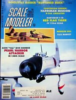 Vtg Scale Modeler Magazine August 1983 Aichi Dive Bomber Pearl Attacker  m90