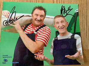 SIGNED A4 CHUCKLE BROTHERS PHOTO