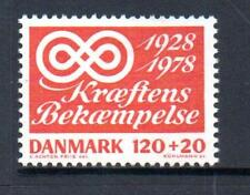 Denmark Mnh 1978 Sg664 50Th Anv Of Danish Cancer Campaign