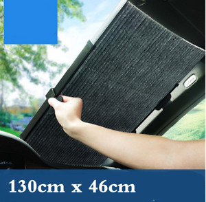 51x18in Car Front Rear Window Screen Sun Shade Cover Windshield Sunshade Visor