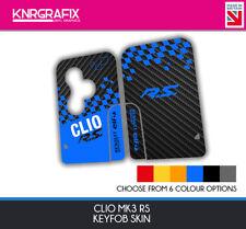 KNR0108 - CLIO CUP MK3 RS RENAULT SPORT KEYFOB SKIN - KEY STICKER