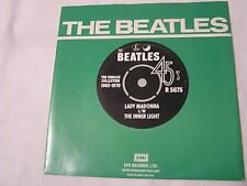 The Beatles 45 & Picture Sleeve from single collection-LADY MADONNA/THE INNER LI