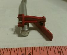 1/64 ERTL custom farm toy red 3pt moveable rear back blade grader metal display!