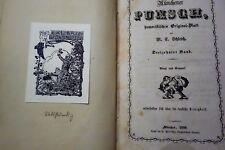 Münchener Punch 1851/59//60, 68 Satire 4 Bde. Zeitschrift ,Witz ,Spass ,Politik