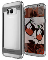 For Galaxy S8 Plus S8+ Case | Ghostek CLOAK Clear Hybrid Shockproof Bumper Cover