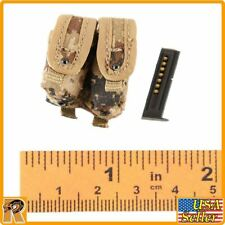 PLA Desert Wolf - Pistol Pouch & Mag - 1/6 Scale - Flagset Action Figures
