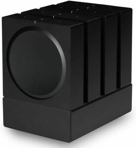 Flexson FLXSAWX4WM1021 Dock for 4 Sonos Amps - Black, 27.2 cm*33.7 cm*21.7 cm